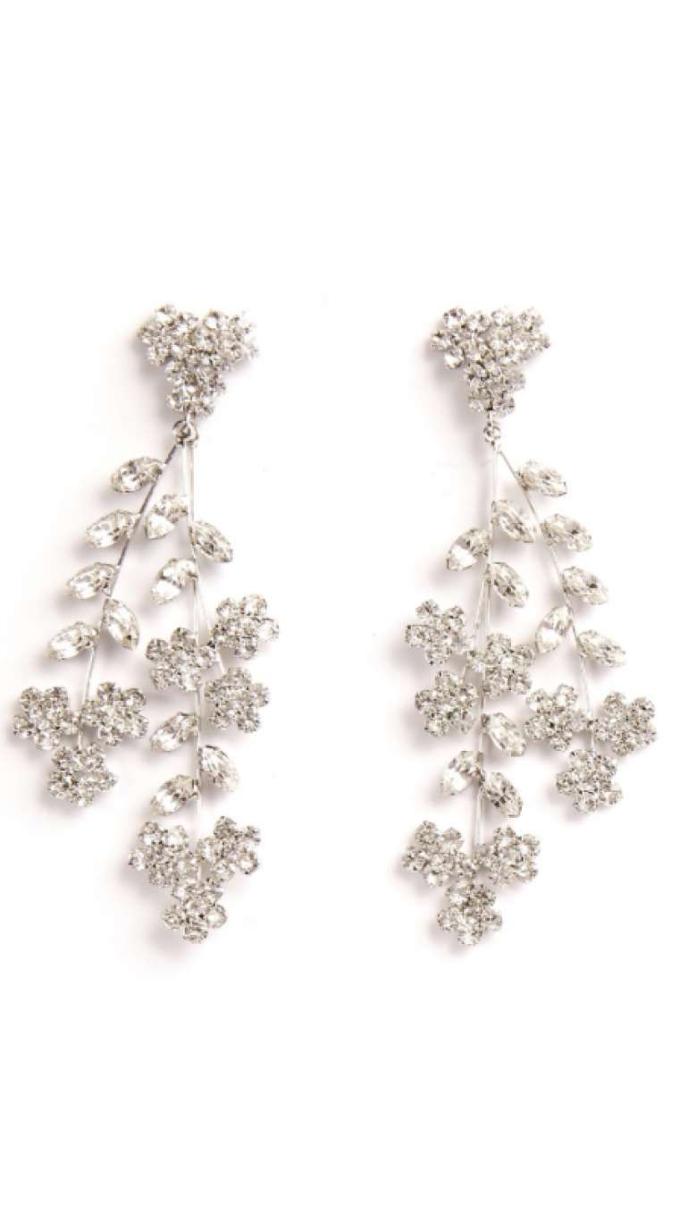 Violetta Chandelier Earrings by Jennifer Behr