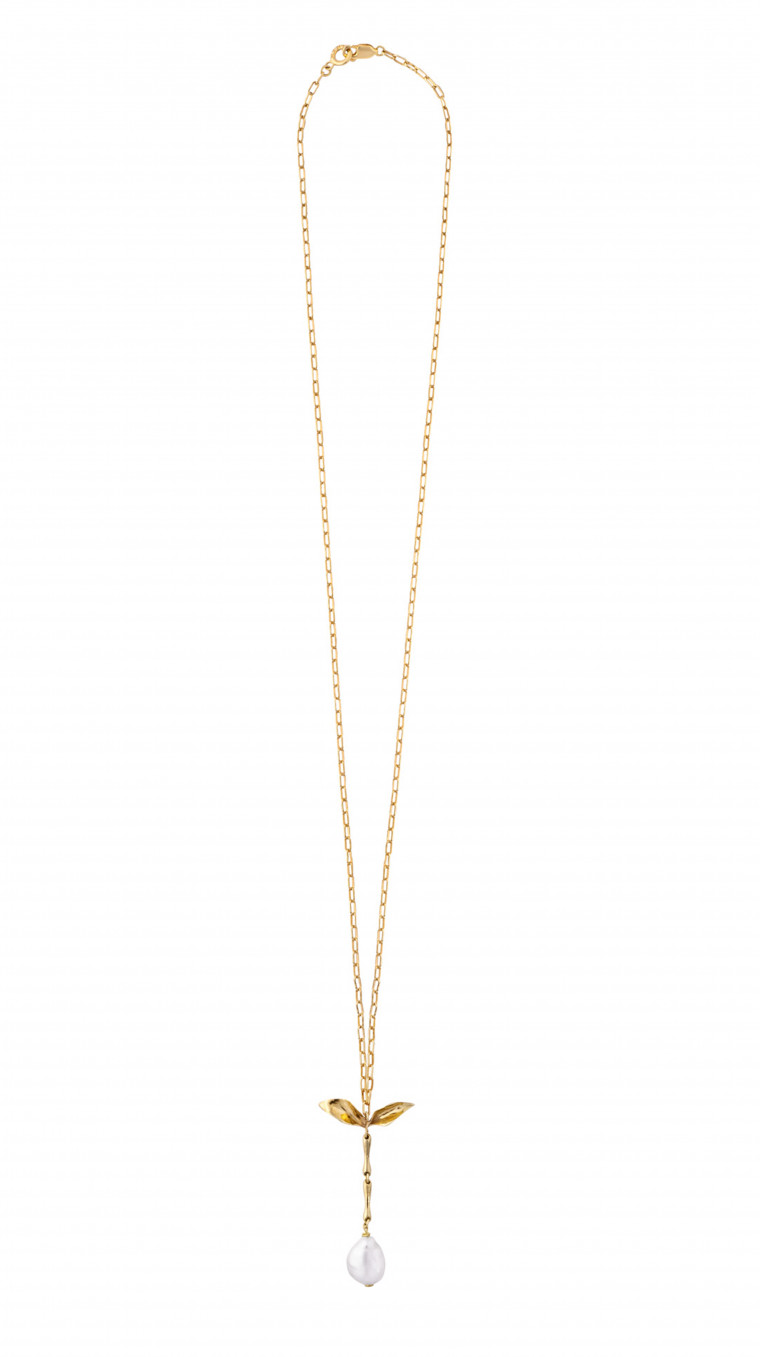 THE SERAPHIM LONG Necklace gold