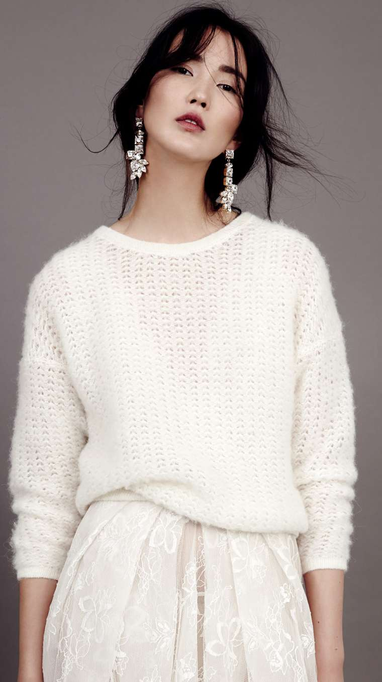 Bridal Knit Sweater