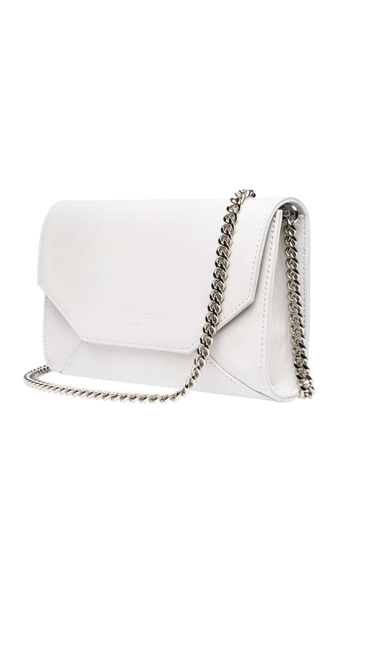 Logo Envelope Clutch mini Chain