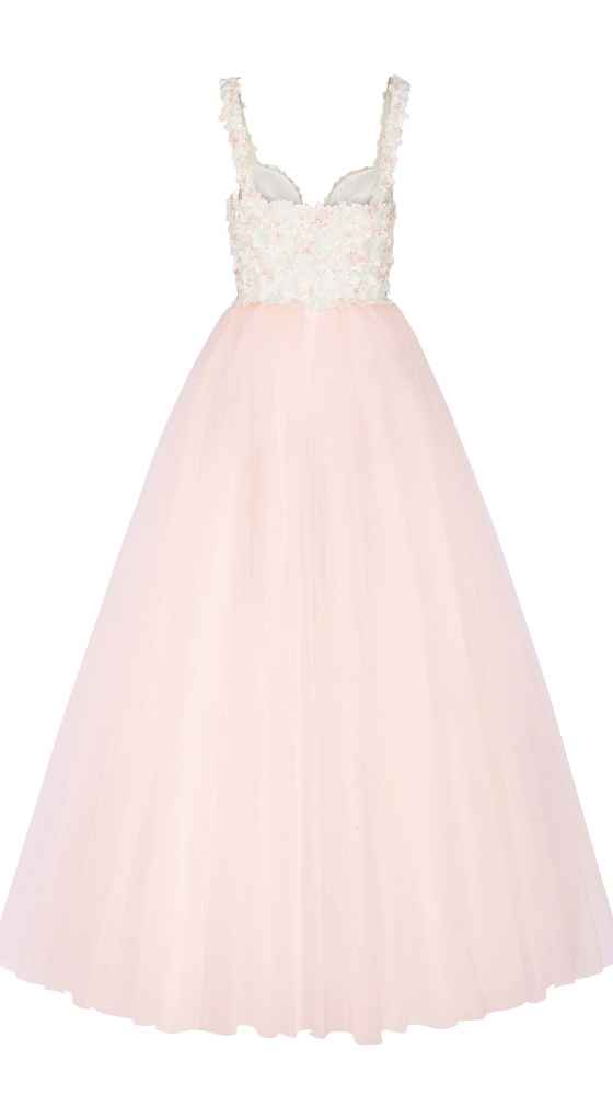 Occasion Dress with tulle skirt