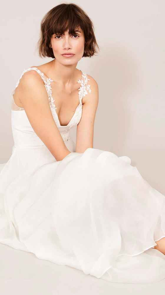 charming wedding dress from kaviar gauche