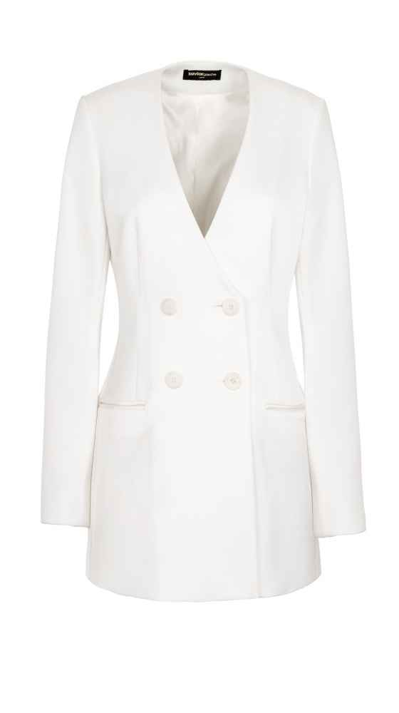 Blazer Dress White