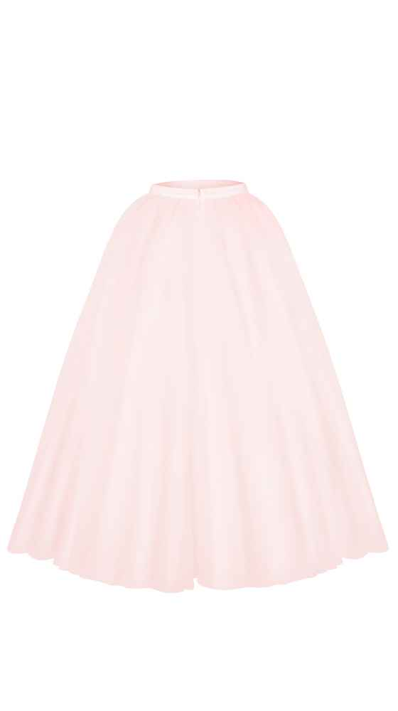 Cinderella wedding skirt