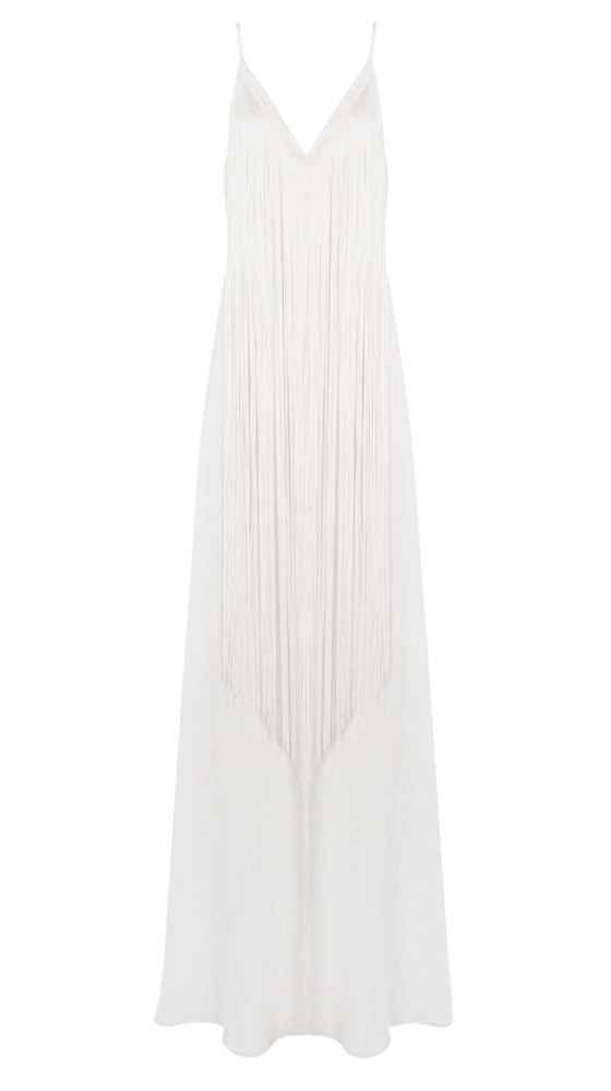 Fringe Lingerie Dress Vorderseite