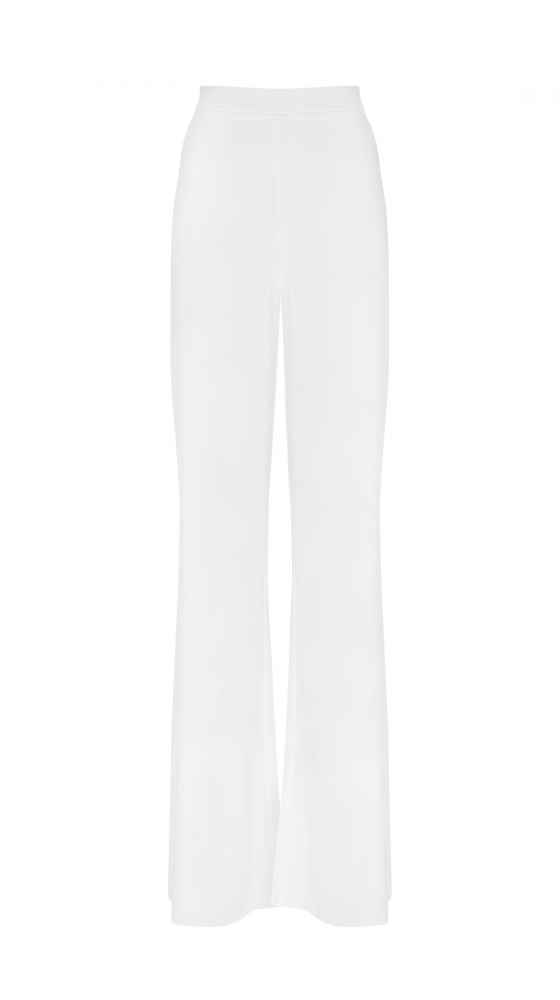 Long white pants
