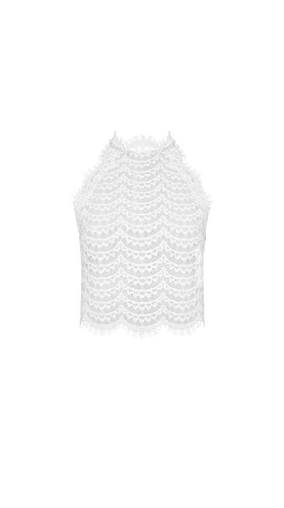 Bardot Lace Top by Kaviar Gauche