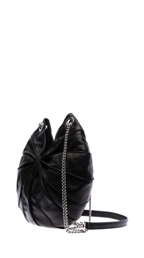 Lamella Bag semi with chain from the side