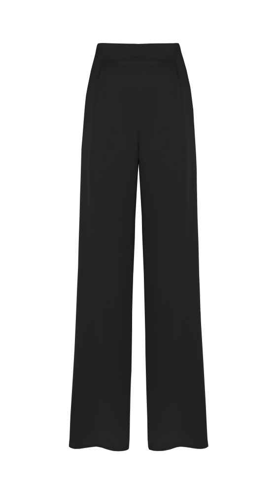 Wide trousers black