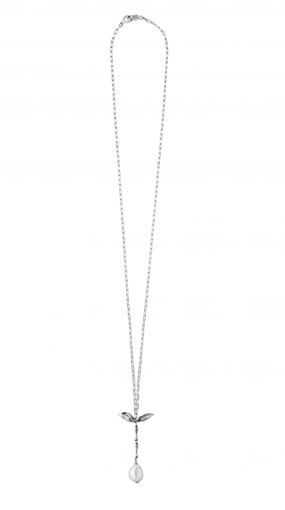 THE SERAPHIM LONG Necklace silver