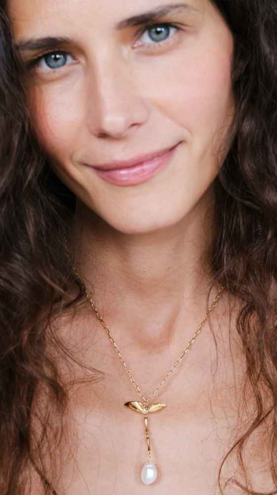 THE SERAPHIM SHORT Necklace gold
