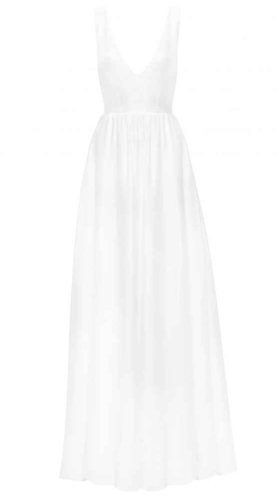 Flirty Dress Ivory von vorne