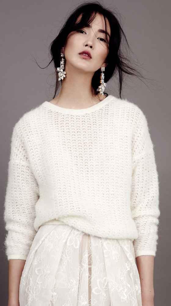 Knit Sweater Bridal