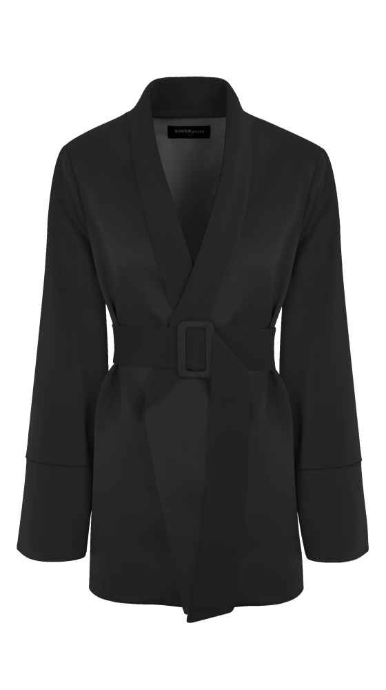 SMOKING BLAZER BLACK