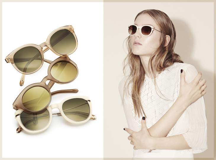 Sunglasses by Kaviar Gauche