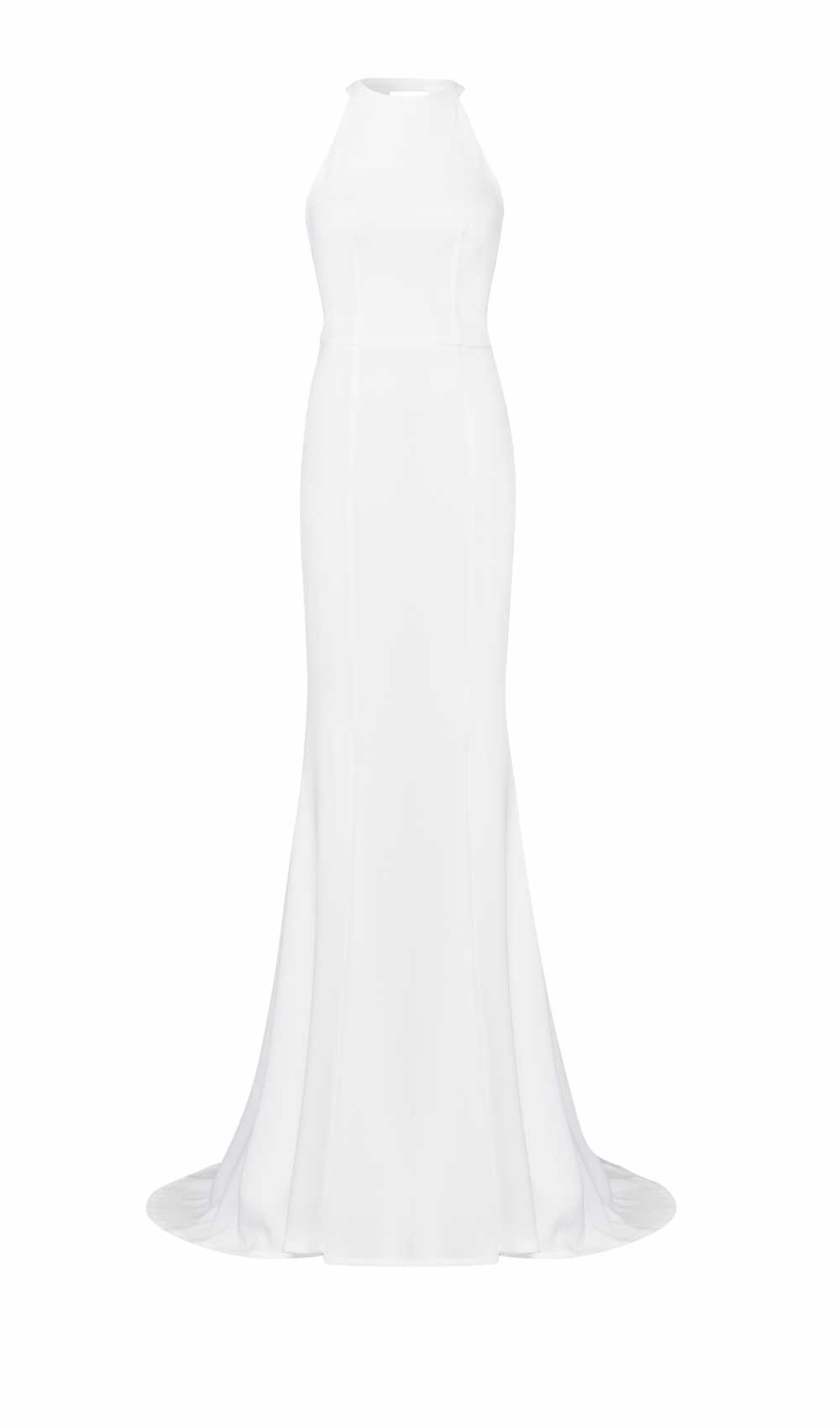 form-fitted wedding dress from Kaviar Gauche