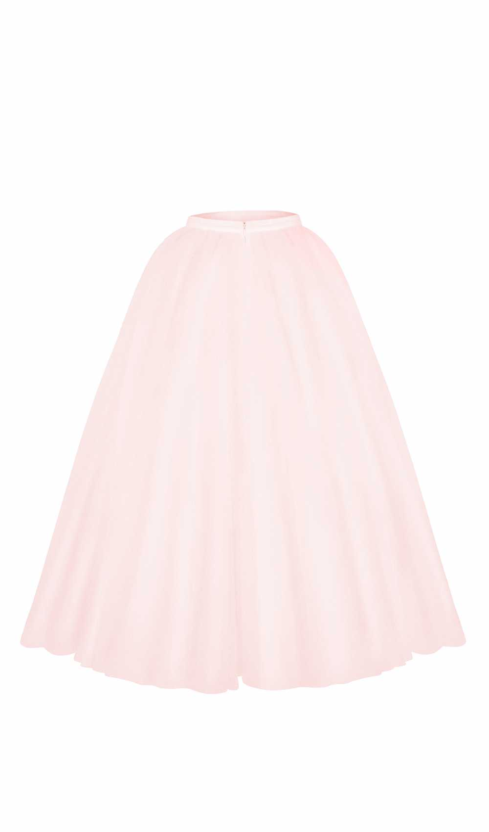 opulent wedding skirt