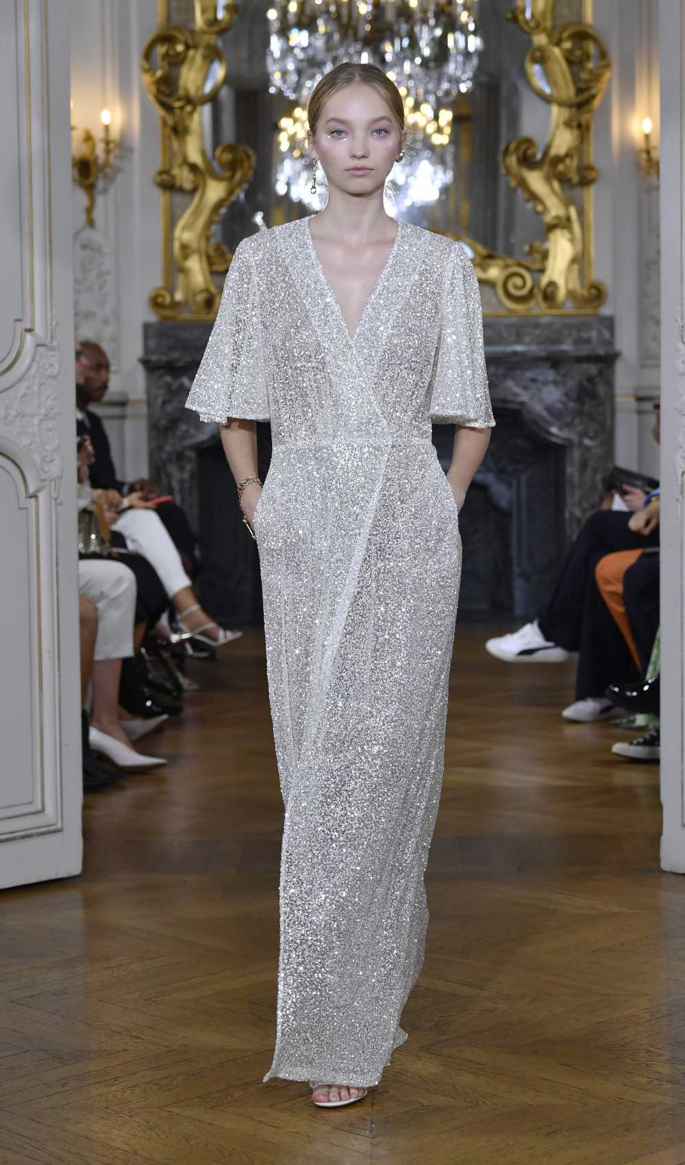 Glitter Cache Coeur Dress Runway Look