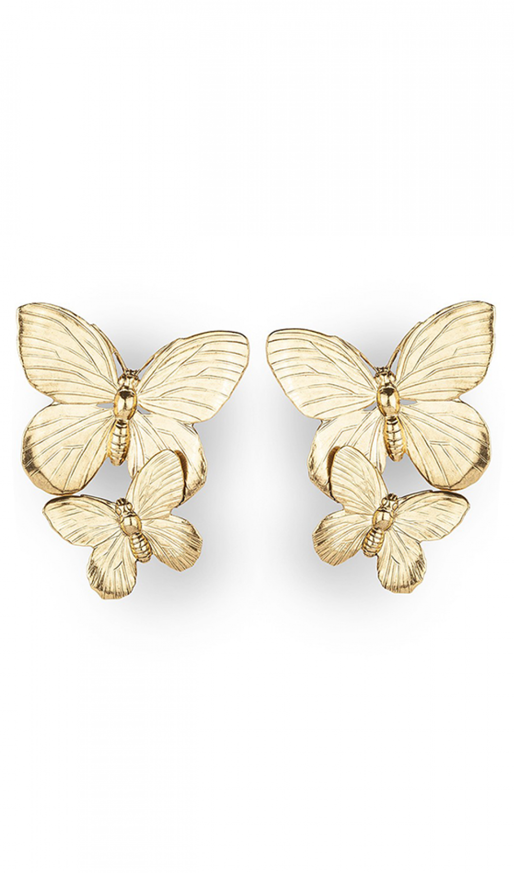 Papillon Earrings Gold von Jennifer Behr