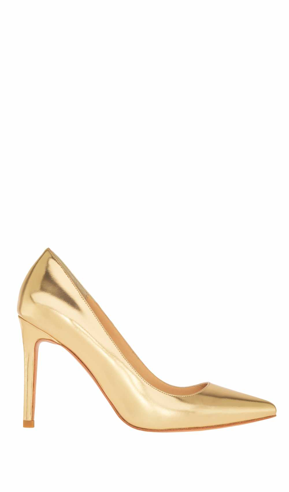 Highheels in gold by Kaviar Gauche