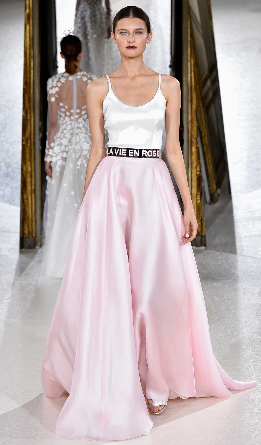 runway Paris floor length skirt by Kaviar gauche