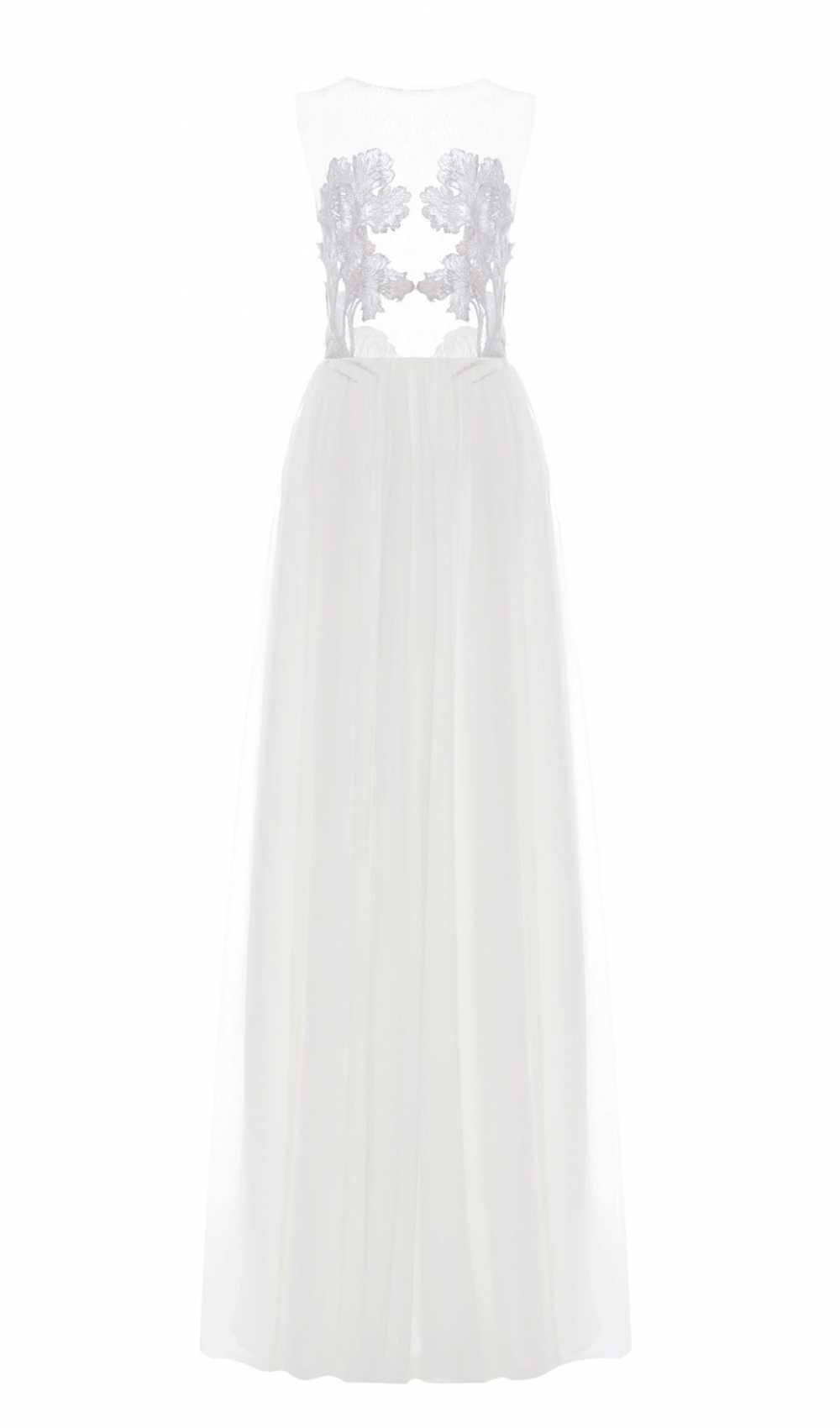 Raffiniertes Brautkleid White Iris Illusion Dress von Kaviar Gauche