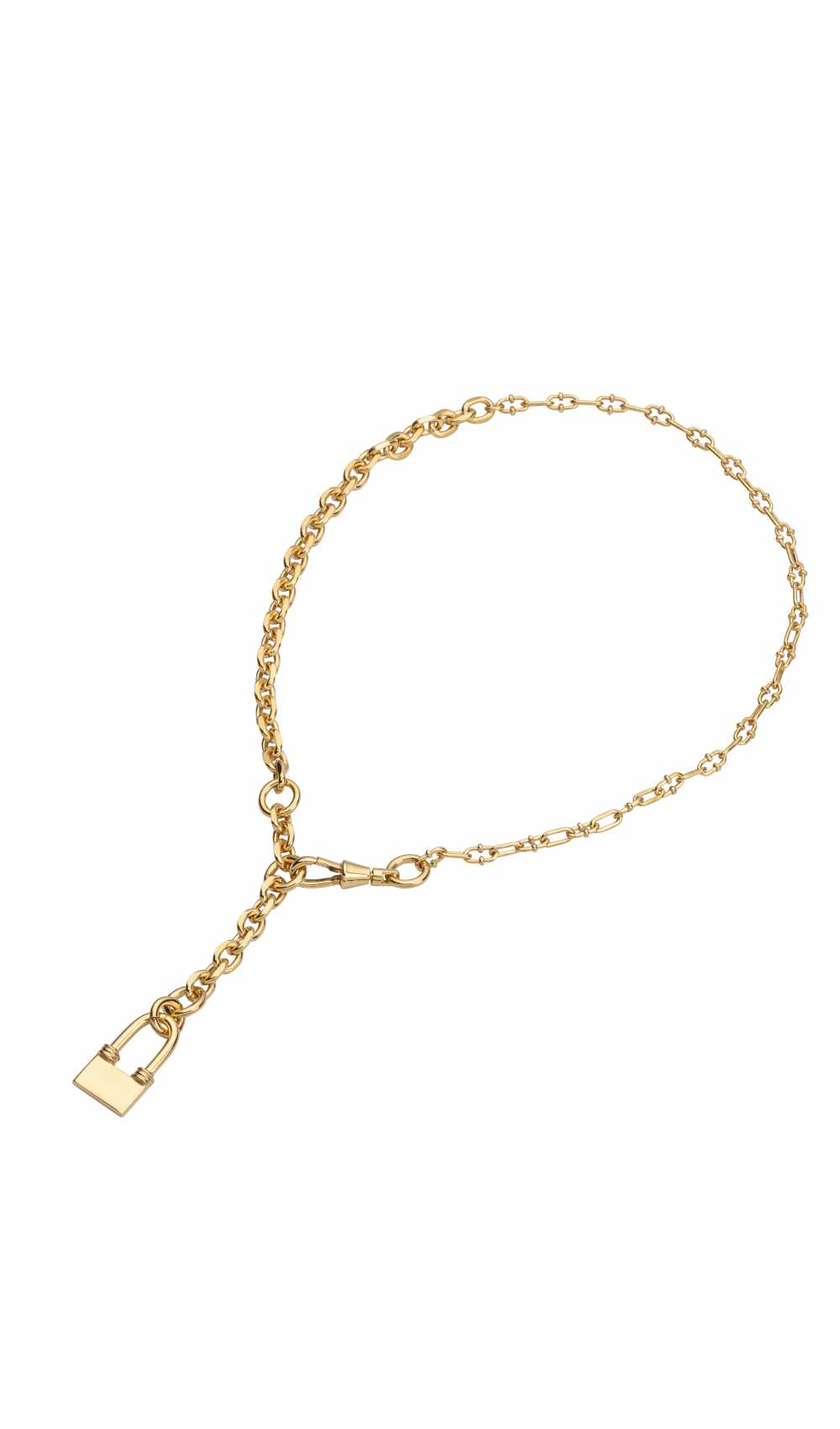 ingent necklace in gold from Sabrina dehoff