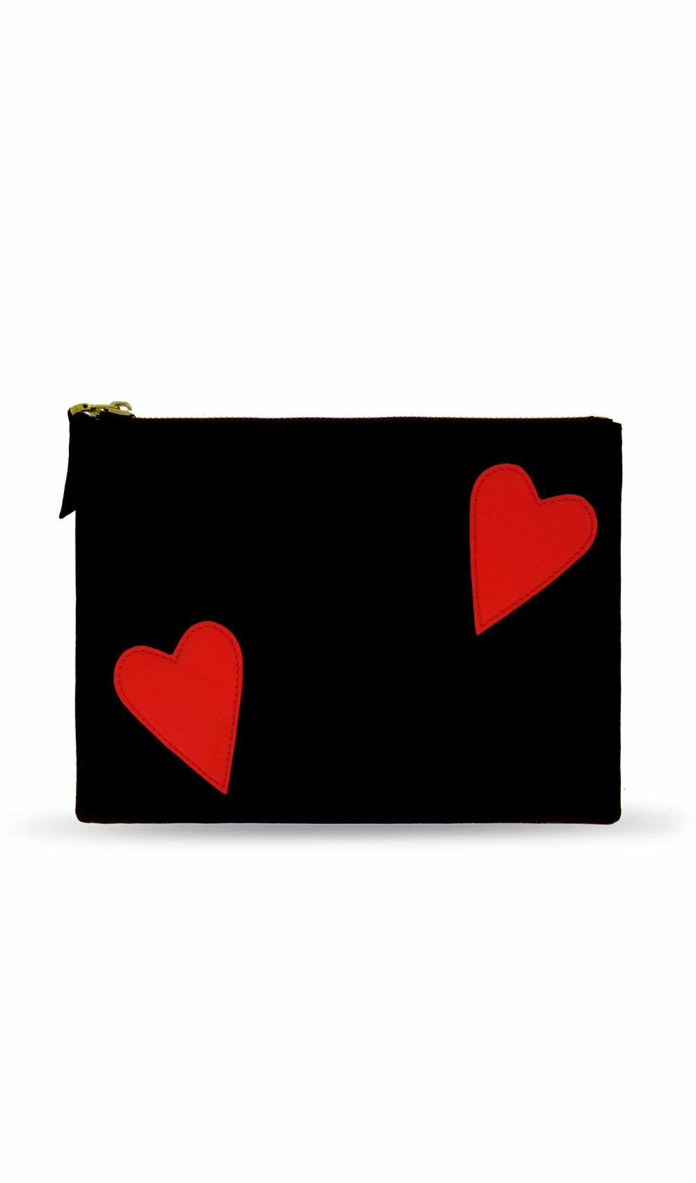 Cosmetic Bag Red Heart von IPhoria