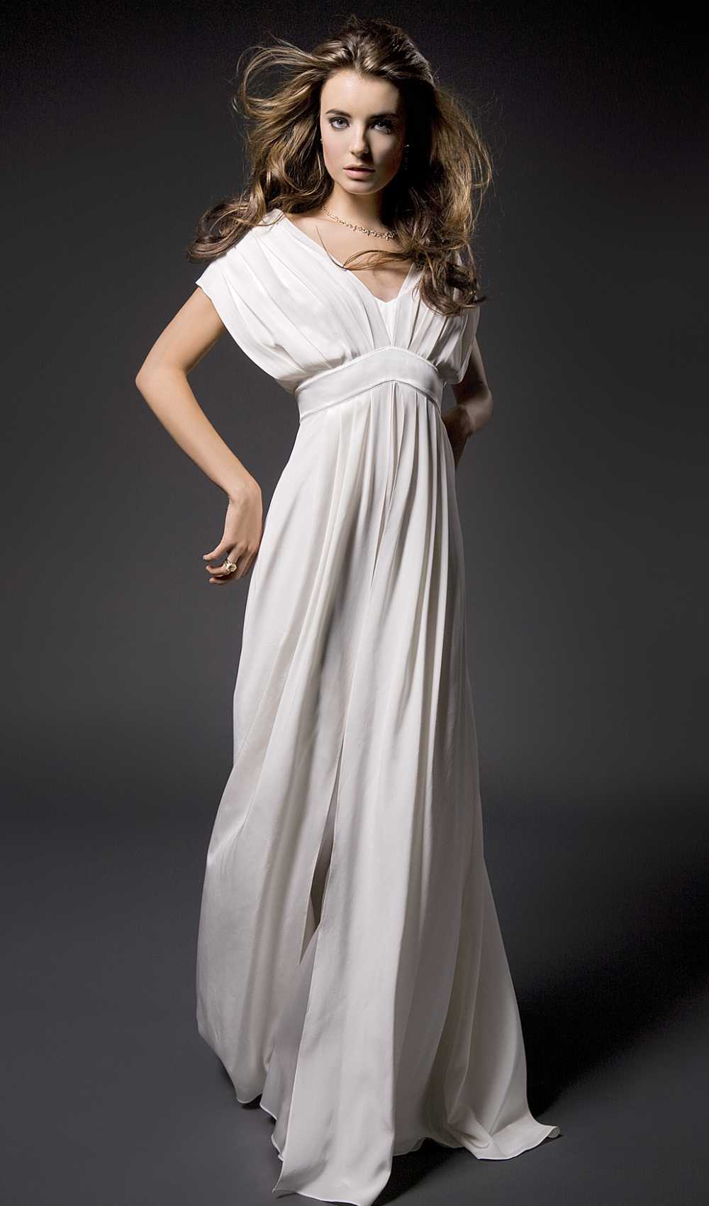 Lookbook picture of the Pleated Martina Dress