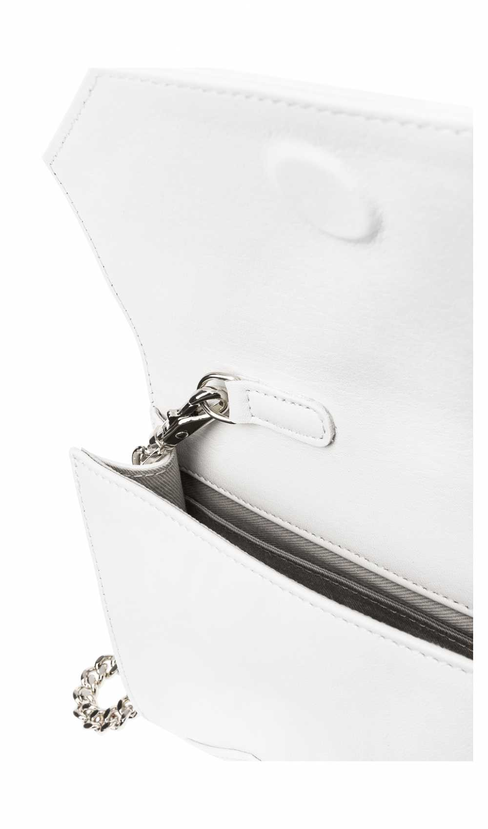 Inside the Logo Envelope Clutch mini Chain