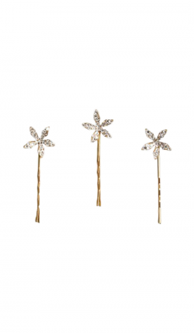 Ciel Crystal Pins gold by KJ. ATELIER
