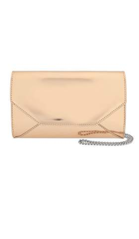 Metallic Envelope Clutch Mini Gold