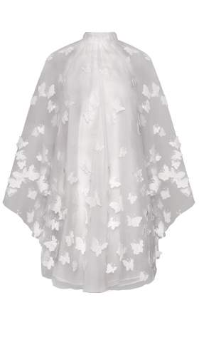 Wedding Dress in the 60s Style Swinging Papillon Dress
