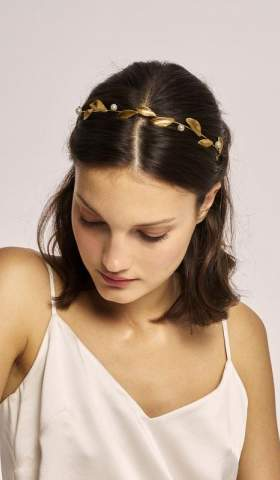 Headband Toujours Pearl by KJ. ATELIER Lookbook