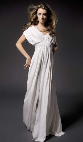 Pleated Martina Dress von Kaviar gauche